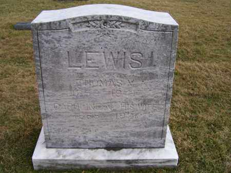 LEWIS, THOMAS M. - Highland County, Ohio | THOMAS M. LEWIS - Ohio Gravestone Photos