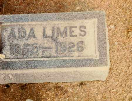 LIMES, ADA - Highland County, Ohio | ADA LIMES - Ohio Gravestone Photos