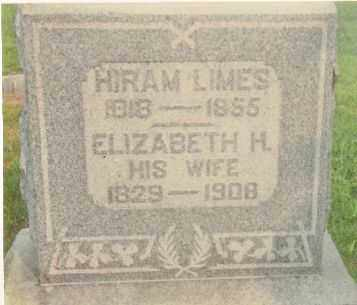 LIMES, HIRAM - Highland County, Ohio | HIRAM LIMES - Ohio Gravestone Photos