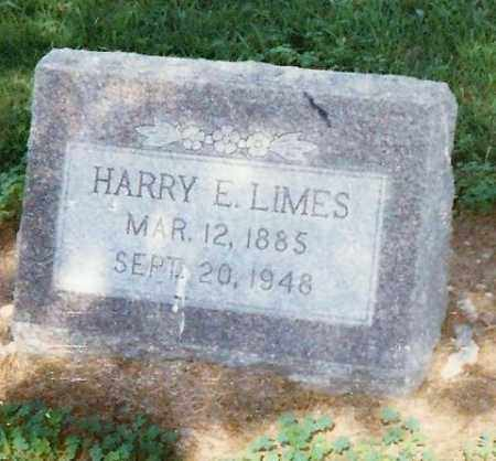 LIMES, HARRY E. - Highland County, Ohio | HARRY E. LIMES - Ohio Gravestone Photos