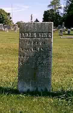 LINK, ADAM - Highland County, Ohio | ADAM LINK - Ohio Gravestone Photos