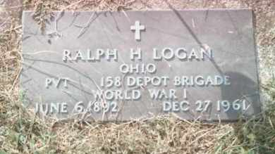 LOGAN, RALPH H - Highland County, Ohio | RALPH H LOGAN - Ohio Gravestone Photos