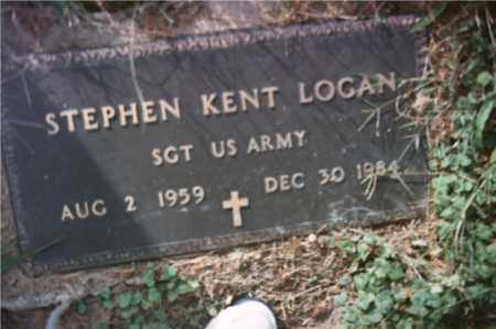 LOGAN, STEPHEN KENT - Highland County, Ohio | STEPHEN KENT LOGAN - Ohio Gravestone Photos