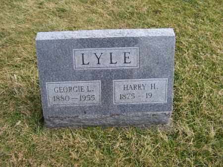 LYLE, HARRY H. - Highland County, Ohio | HARRY H. LYLE - Ohio Gravestone Photos