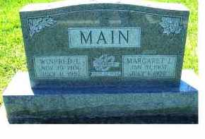 MAIN, WINFRED L. - Highland County, Ohio | WINFRED L. MAIN - Ohio Gravestone Photos