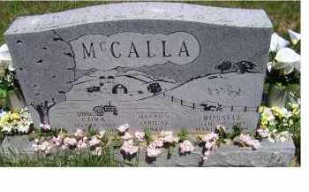 MCCALLA, CORA - Highland County, Ohio | CORA MCCALLA - Ohio Gravestone Photos