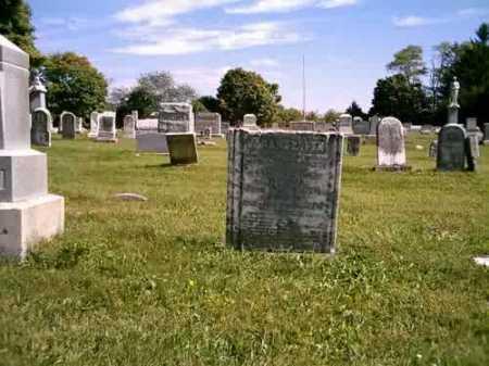 MCCONNAUGHETY, SARAH ELLEN - Highland County, Ohio | SARAH ELLEN MCCONNAUGHETY - Ohio Gravestone Photos