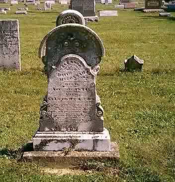MCCONNAUGHEY, ELEANOR - Highland County, Ohio   ELEANOR MCCONNAUGHEY - Ohio Gravestone Photos