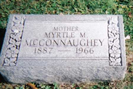 MCCONNAUGHEY, MYRTLE M. - Highland County, Ohio | MYRTLE M. MCCONNAUGHEY - Ohio Gravestone Photos