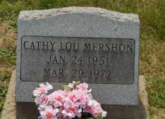 MERSHON, CATHY LOU - Highland County, Ohio | CATHY LOU MERSHON - Ohio Gravestone Photos