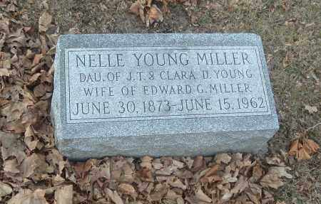 YOUNG MILLER, NELLIE DEAN - Highland County, Ohio | NELLIE DEAN YOUNG MILLER - Ohio Gravestone Photos