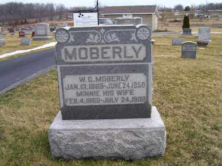 MOBERLY, W.C. - Highland County, Ohio | W.C. MOBERLY - Ohio Gravestone Photos