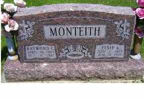 MONTEITH, ELSIE A. - Highland County, Ohio | ELSIE A. MONTEITH - Ohio Gravestone Photos