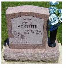 MONTEITH, ROY G. - Highland County, Ohio | ROY G. MONTEITH - Ohio Gravestone Photos