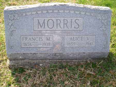 MORRIS, ALICE V. - Highland County, Ohio | ALICE V. MORRIS - Ohio Gravestone Photos