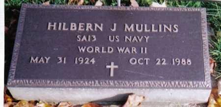 MULLINS, HILBERN J. - Highland County, Ohio | HILBERN J. MULLINS - Ohio Gravestone Photos