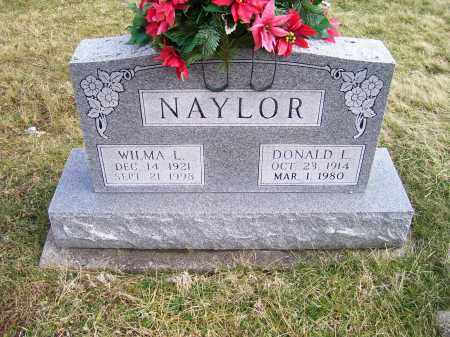 NAYLOR, DONALD L. - Highland County, Ohio | DONALD L. NAYLOR - Ohio Gravestone Photos