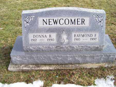 NEWCOMER, RAYMOND F. - Highland County, Ohio | RAYMOND F. NEWCOMER - Ohio Gravestone Photos