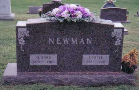 NEWMAN, EDWARD - Highland County, Ohio | EDWARD NEWMAN - Ohio Gravestone Photos