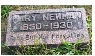 NEWMAN, MARY - Highland County, Ohio | MARY NEWMAN - Ohio Gravestone Photos