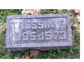 NYE, TRESSIA F. - Highland County, Ohio | TRESSIA F. NYE - Ohio Gravestone Photos