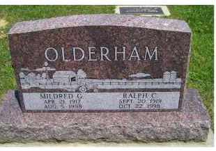 OLDERHAM, MILDRED G. - Highland County, Ohio | MILDRED G. OLDERHAM - Ohio Gravestone Photos