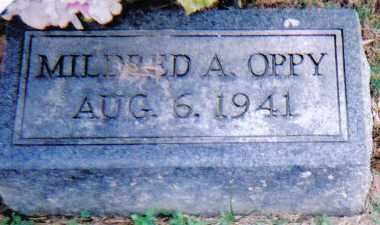 OPPY, MILDRED A. - Highland County, Ohio | MILDRED A. OPPY - Ohio Gravestone Photos