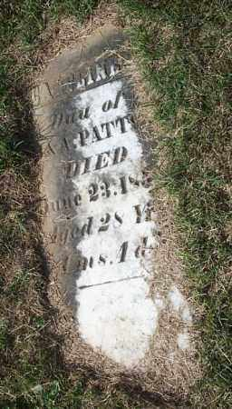 PATTON, CAROLINE - Highland County, Ohio | CAROLINE PATTON - Ohio Gravestone Photos