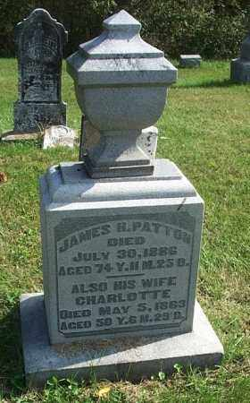 PATTON, CHARLOTTE - Highland County, Ohio | CHARLOTTE PATTON - Ohio Gravestone Photos