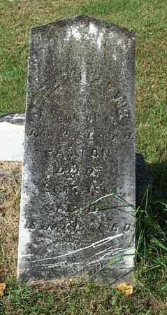 PATTON, JOSEPH FRANK - Highland County, Ohio   JOSEPH FRANK PATTON - Ohio Gravestone Photos