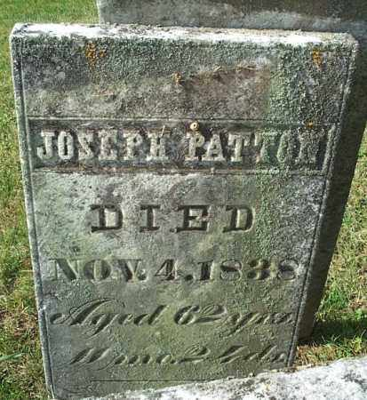 PATTON, JOSEPH - Highland County, Ohio | JOSEPH PATTON - Ohio Gravestone Photos
