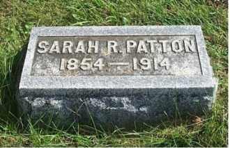 PATTON, SARAH R. - Highland County, Ohio   SARAH R. PATTON - Ohio Gravestone Photos