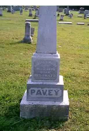 PAVEY, MARTHA S. - Highland County, Ohio | MARTHA S. PAVEY - Ohio Gravestone Photos