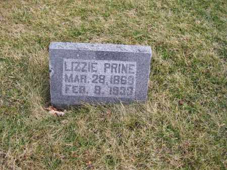 PRINE, LIZZIE - Highland County, Ohio | LIZZIE PRINE - Ohio Gravestone Photos