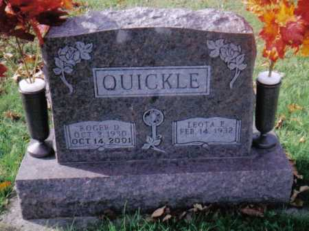 QUICKLE, LEOTA E. - Highland County, Ohio | LEOTA E. QUICKLE - Ohio Gravestone Photos