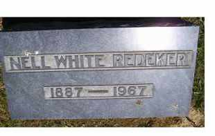 REDEKER, NELL WHITE - Highland County, Ohio | NELL WHITE REDEKER - Ohio Gravestone Photos