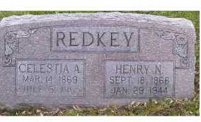 REDKEY, CELESTIA A. - Highland County, Ohio | CELESTIA A. REDKEY - Ohio Gravestone Photos