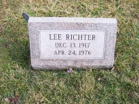 RICHTER, LEE - Highland County, Ohio | LEE RICHTER - Ohio Gravestone Photos