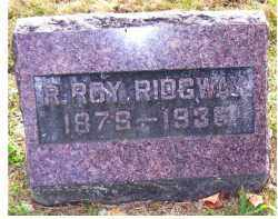 RIDGWAY, R. ROY - Highland County, Ohio | R. ROY RIDGWAY - Ohio Gravestone Photos