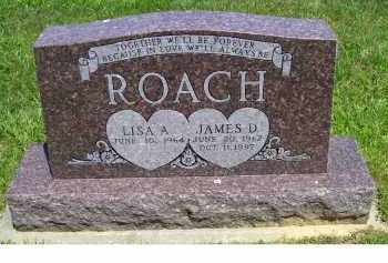 ROACH, JAMES D. - Highland County, Ohio | JAMES D. ROACH - Ohio Gravestone Photos