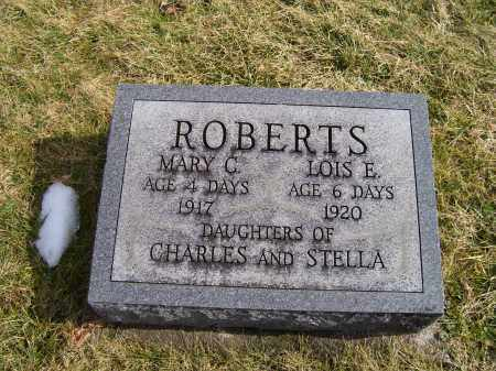 ROBERTS, MARY C. - Highland County, Ohio | MARY C. ROBERTS - Ohio Gravestone Photos