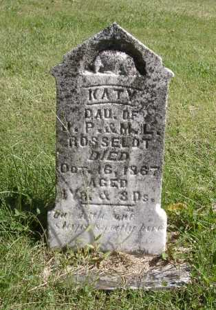 ROSSELOT, KATY - Highland County, Ohio | KATY ROSSELOT - Ohio Gravestone Photos