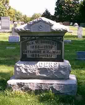 SANDERS, CATHARINE A. - Highland County, Ohio | CATHARINE A. SANDERS - Ohio Gravestone Photos