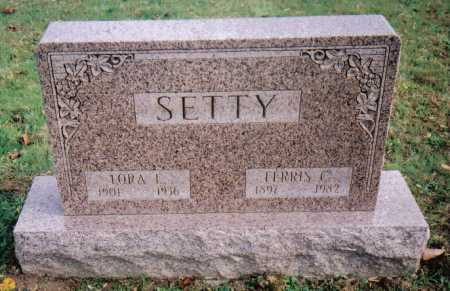 SETTY, FARRIS C. - Highland County, Ohio | FARRIS C. SETTY - Ohio Gravestone Photos