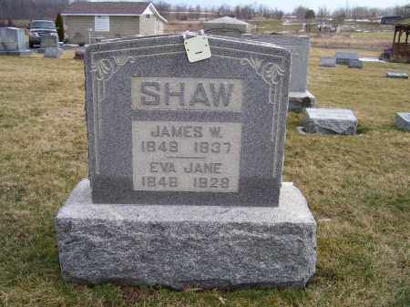 SHAW, EVA JANE - Highland County, Ohio | EVA JANE SHAW - Ohio Gravestone Photos