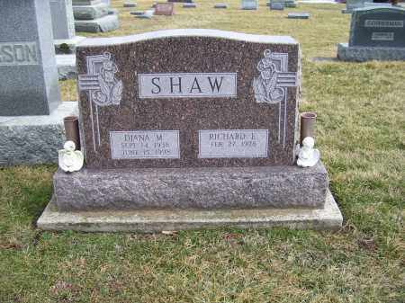 SHAW, RICHARD E. - Highland County, Ohio | RICHARD E. SHAW - Ohio Gravestone Photos