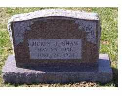 SHAW, RICKEY J. - Highland County, Ohio | RICKEY J. SHAW - Ohio Gravestone Photos