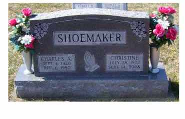 SHOEMAKER, CHARLES A. - Highland County, Ohio | CHARLES A. SHOEMAKER - Ohio Gravestone Photos