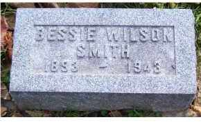 WILSON SMITH, BESSIE - Highland County, Ohio | BESSIE WILSON SMITH - Ohio Gravestone Photos