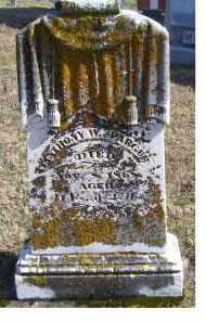 SPRAGUE, ANTHONY W. - Highland County, Ohio | ANTHONY W. SPRAGUE - Ohio Gravestone Photos